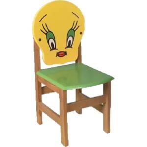 Дървено столче-пате 8435 със заоблени ъгли