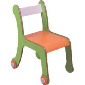 Дървено столче 8285 със заоблени ъгли