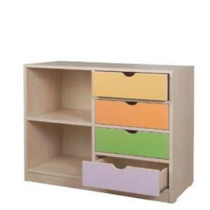 Шкаф с 4 чекмеджета и 2 рафтчета 1861