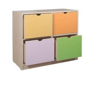 Шкаф с 4 чекмеджета 1791