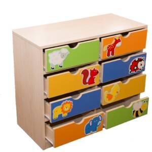 Шкаф с 8 чекмеджета 1801