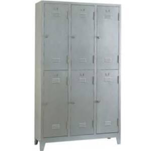 Метален шкаф с 6 врати